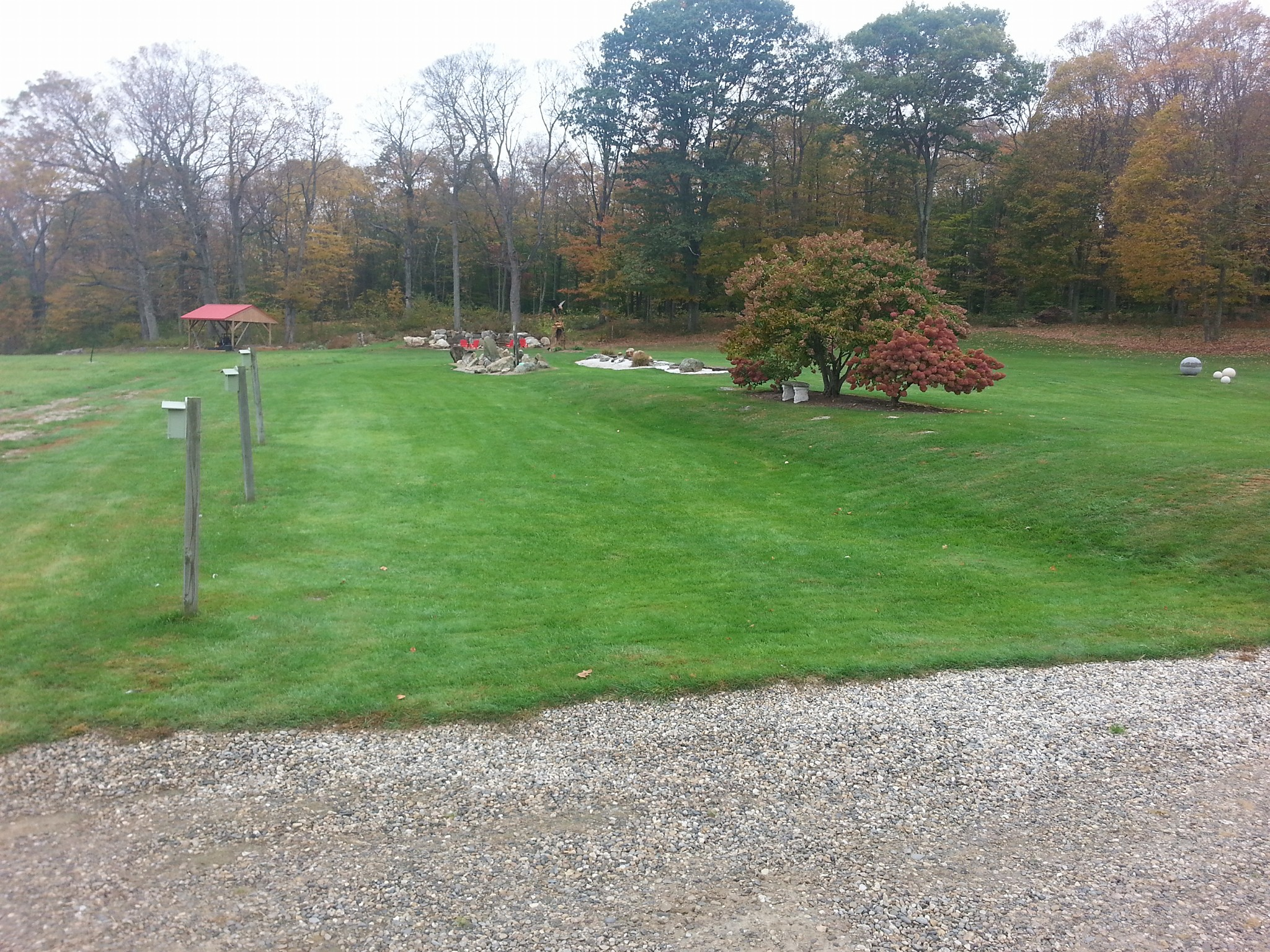 New England Lawn Care, Aeration Services, Huntington Ma