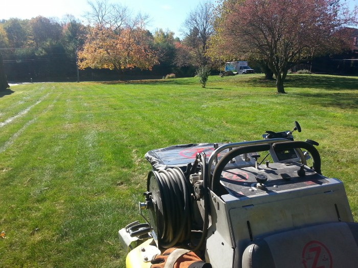 AERATION AND OVERSEEDING IN WESTHAMPTON, MA
