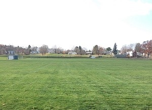 This Is A Photo Of Lawn Care Of An Athletic Field, New England Lawn Care